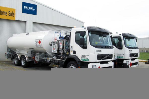 Dangerous Goods Tanker - Courtesy of Refuel International