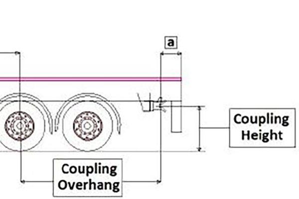 Road Train Tow Hitch Dimensions