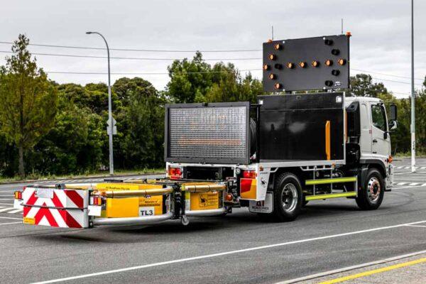 Truck Mounted Attenuator Installation
